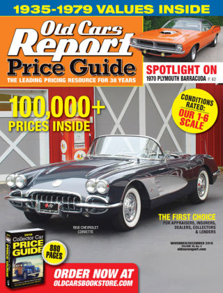 Old Cars Report Price Guide Nov-Dec 2018