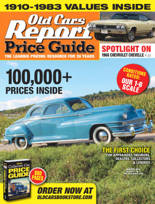 Old Cars Report Price Guide Jan-Feb 2019