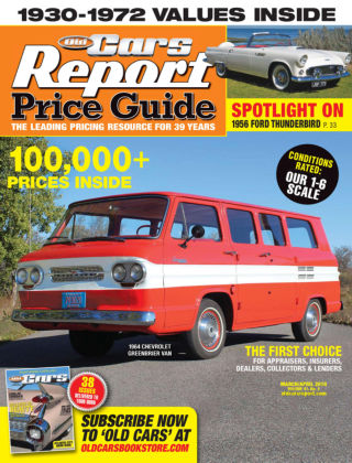 Old Cars Report Price Guide Mar-Apr 2019