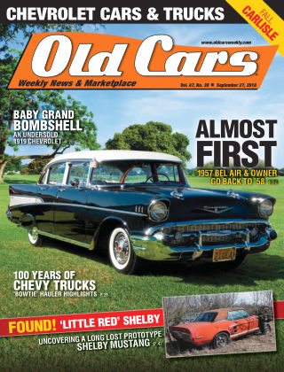 Old Cars Weekly Sep 27 2018