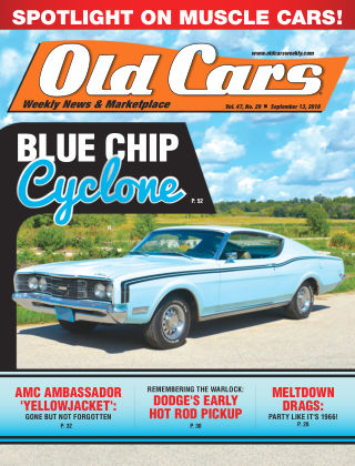 Old Cars Weekly Sep 13 2018
