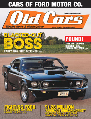 Old Cars Weekly Sep 6 2018