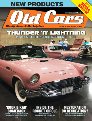 Old Cars Weekly Oct 25 2018