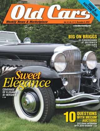 Old Cars Weekly Dec 6 2018