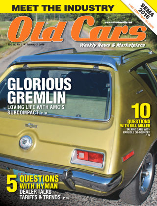 Old Cars Weekly Jan 3 2019