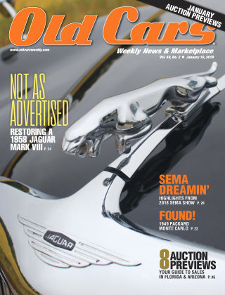 Old Cars Weekly Jan 10 2019