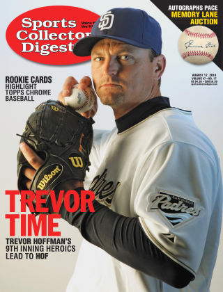 Sports Collectors Digest Aug 17 2018