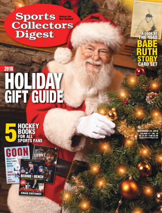 Sports Collectors Digest Nov 23 2018