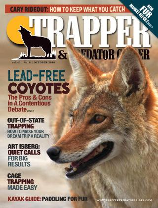 Trapper & Predator Caller Oct 2018