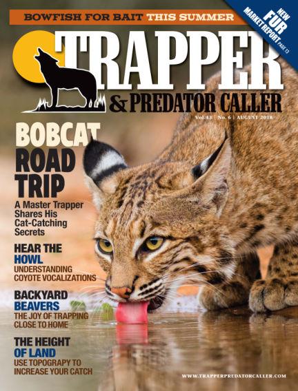 Trapper & Predator Caller July 22, 2018 00:00