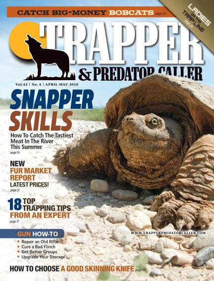 Trapper & Predator Caller March 25, 2018 00:00