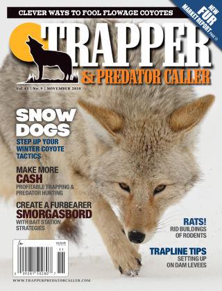 Trapper & Predator Caller Nov 2018