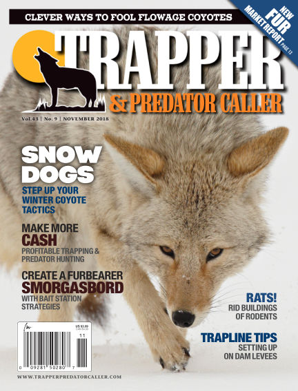 Trapper & Predator Caller October 21, 2018 00:00