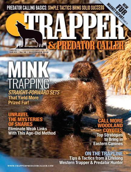 Trapper & Predator Caller November 25, 2018 00:00