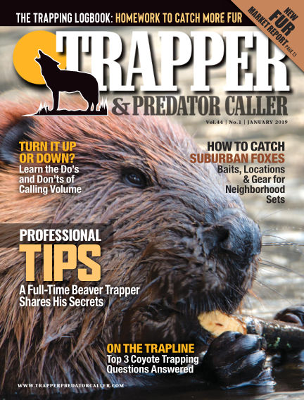 Trapper & Predator Caller December 23, 2018 00:00