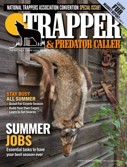 Trapper & Predator Caller May 16, 2019 00:00