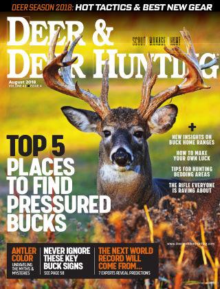 Deer & Deer Hunting August 2018