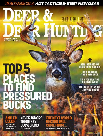 Deer & Deer Hunting July 31, 2018 00:00