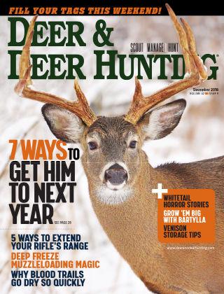 Deer & Deer Hunting December 2018