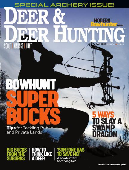 Deer & Deer Hunting July 17, 2018 00:00