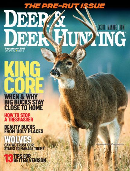 Deer & Deer Hunting September 04, 2018 00:00