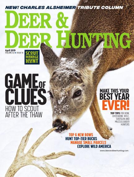 Deer & Deer Hunting March 15, 2019 00:00