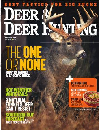 Deer & Deer Hunting November 2018