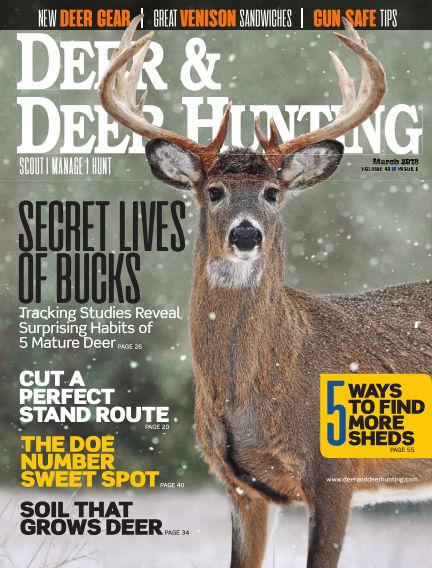 Deer & Deer Hunting December 26, 2017 00:00
