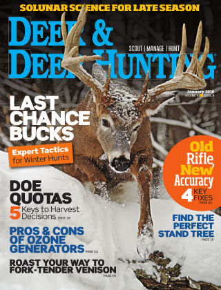 Deer & Deer Hunting January 2018