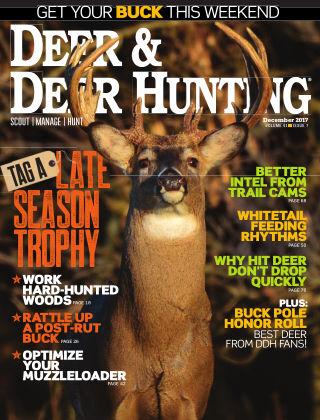 Deer & Deer Hunting December 2017