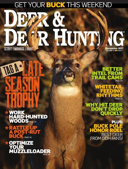Deer & Deer Hunting October 31, 2017 00:00