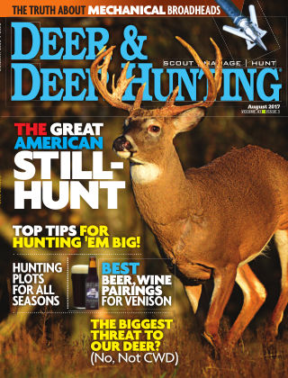 Deer & Deer Hunting August 2017