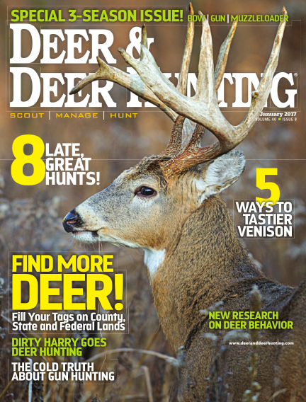 Deer & Deer Hunting December 06, 2016 00:00