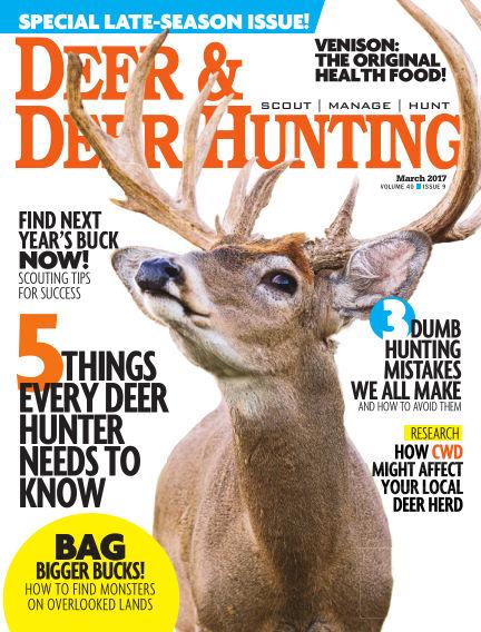 Deer & Deer Hunting December 27, 2016 00:00