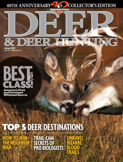 Deer & Deer Hunting March 28, 2017 00:00