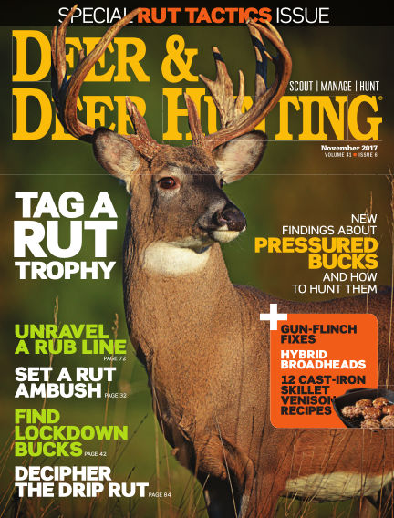 Deer & Deer Hunting October 10, 2017 00:00