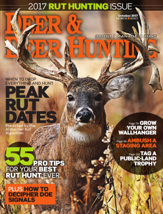 Deer & Deer Hunting October 2017