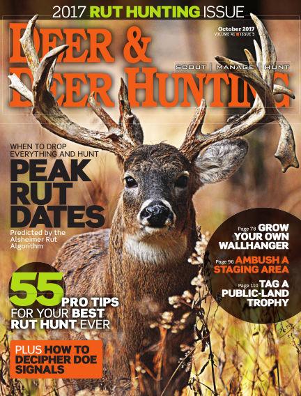 Deer & Deer Hunting September 05, 2017 00:00