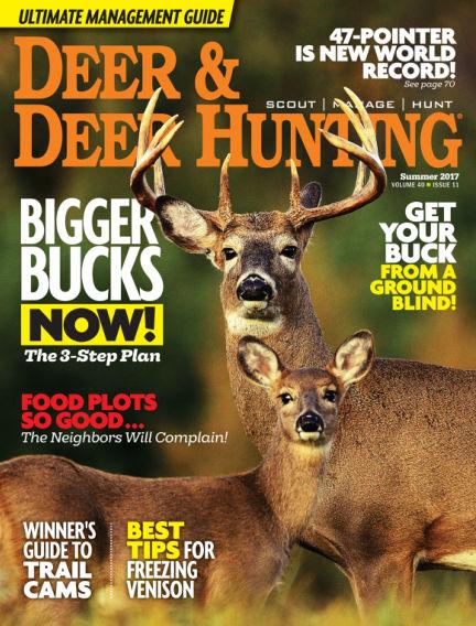 Deer & Deer Hunting May 09, 2017 00:00