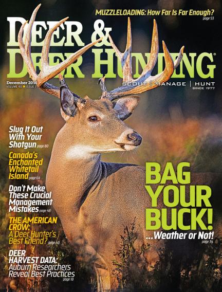 Deer & Deer Hunting November 01, 2016 00:00