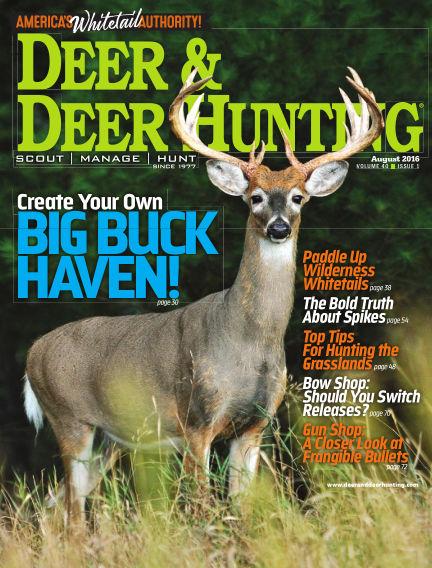 Deer & Deer Hunting June 17, 2016 00:00