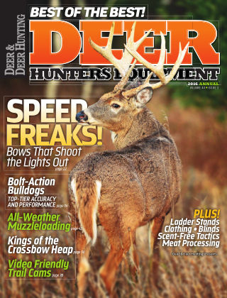 Deer & Deer Hunting EquipmentAnnual 2016