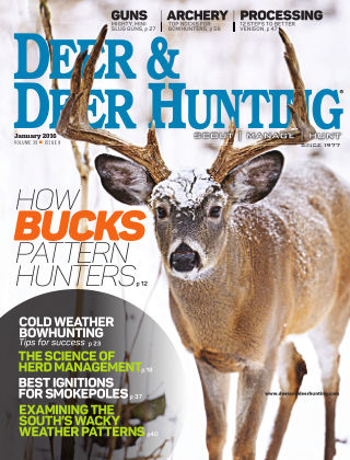 Deer & Deer Hunting January 2016