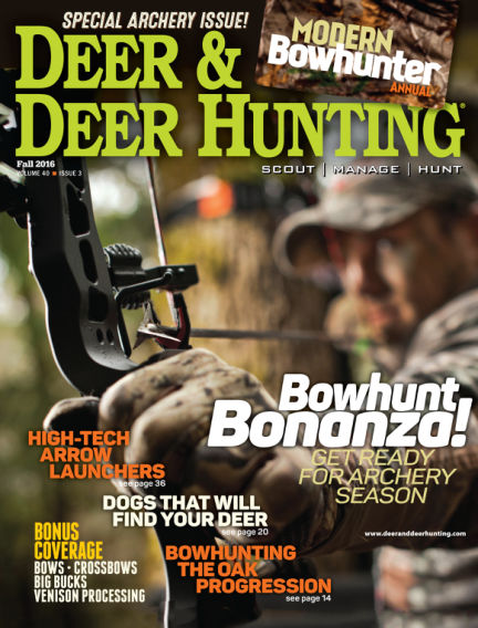 Deer & Deer Hunting July 19, 2016 00:00