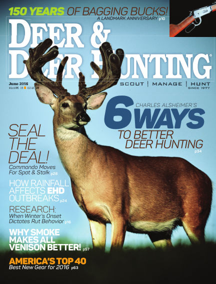 Deer & Deer Hunting March 29, 2016 00:00
