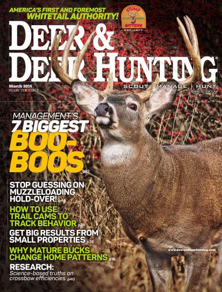 Deer & Deer Hunting December 29, 2015 00:00