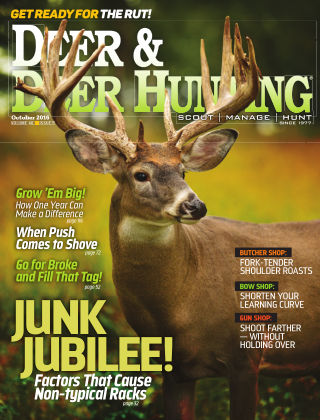 Deer & Deer Hunting October 2016