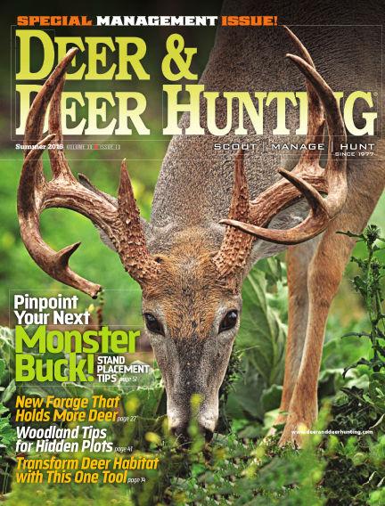 Deer & Deer Hunting May 10, 2016 00:00
