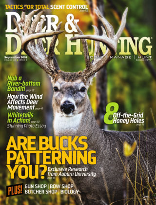 Deer & Deer Hunting September 2016