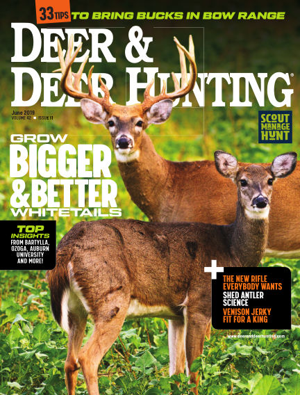 Deer & Deer Hunting May 01, 2019 00:00